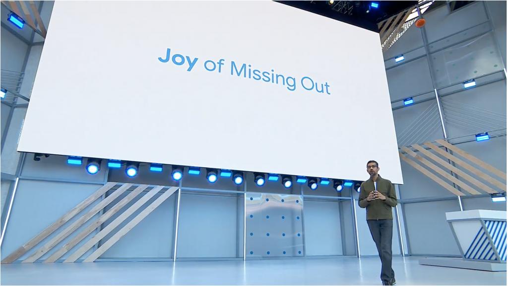 Google IO 18 keywnot live