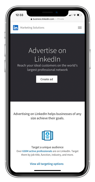 LinkedIn Advertising Services