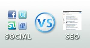 Enfrentamiento social media y SEO