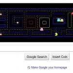 homenaje de google a pacman